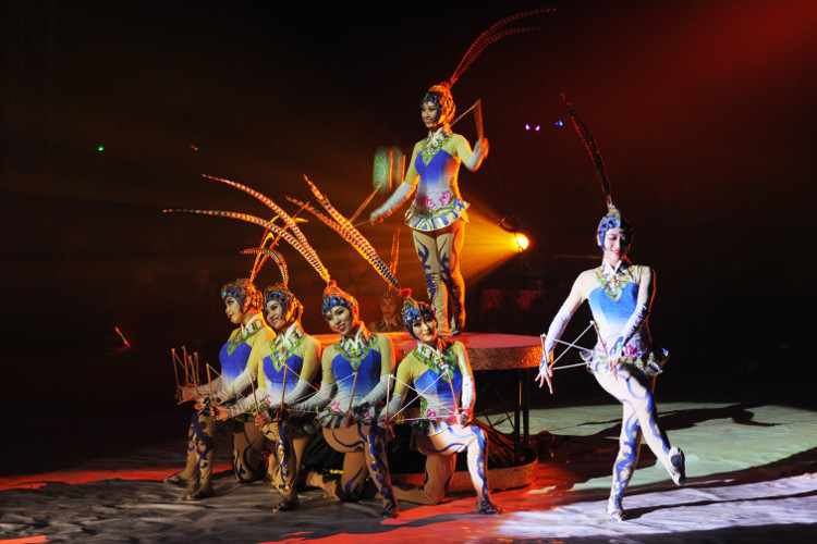Septembre - Festival Internationnal du Cirque du Val d'Oise