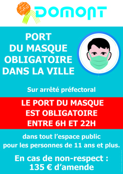 AFFICHE PORT DU MASQUE complet octobre